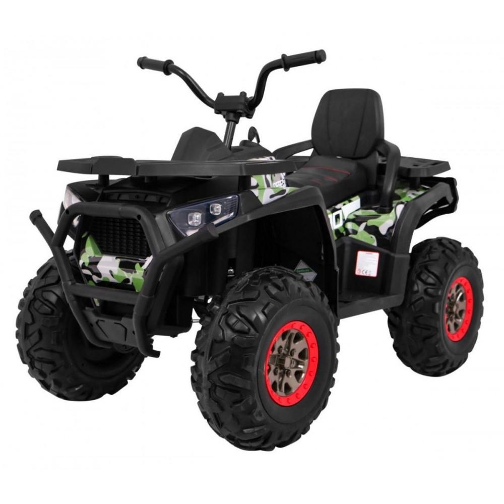 Elektrické štvorkolky - Elektrická štvorkolka Quad ATV Desert - kamufláž - 2