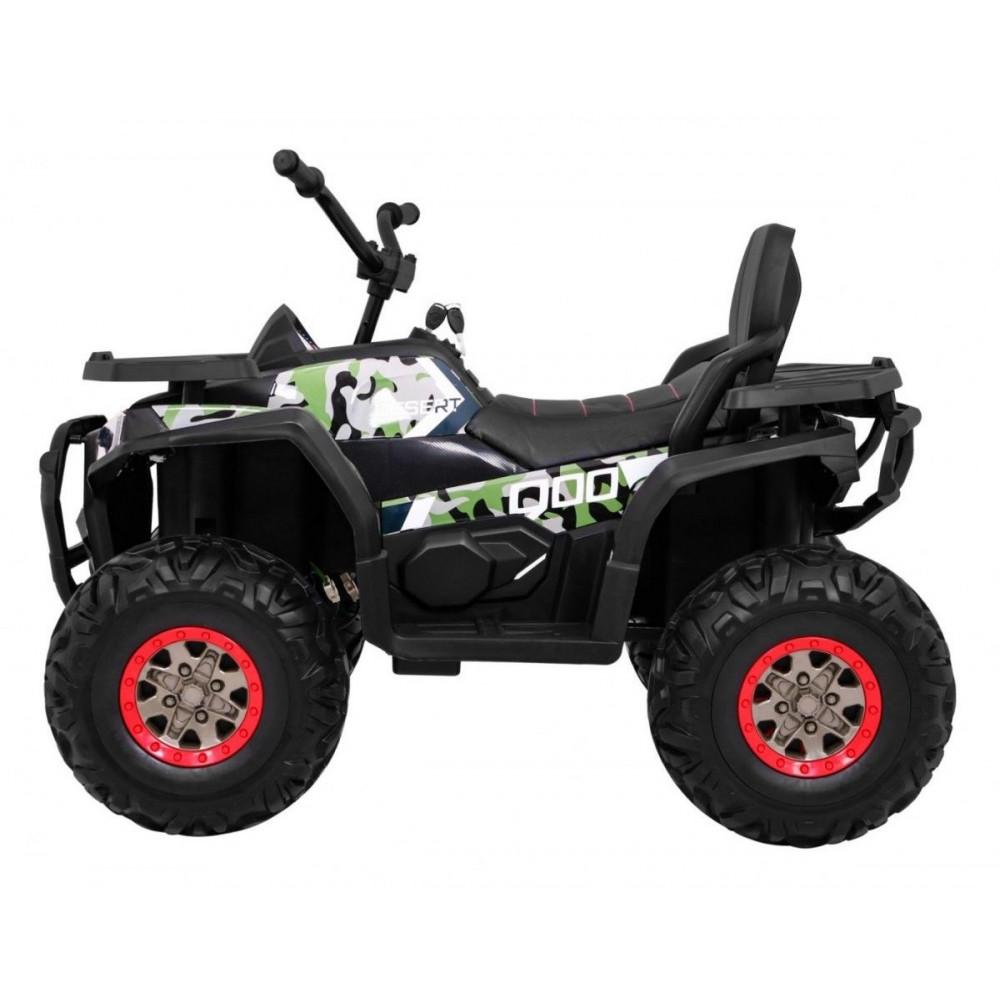 Elektrické štvorkolky - Elektrická štvorkolka Quad ATV Desert - kamufláž - 4