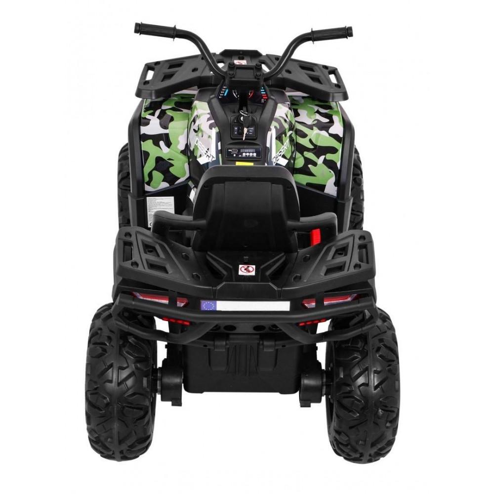 Elektrické štvorkolky - Elektrická štvorkolka Quad ATV Desert - kamufláž - 5