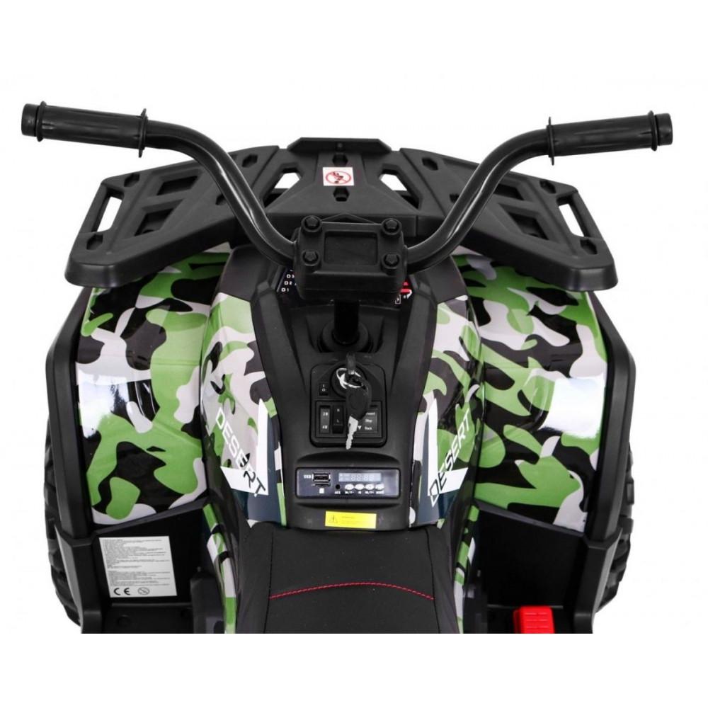 Elektrické štvorkolky - Elektrická štvorkolka Quad ATV Desert - kamufláž - 9