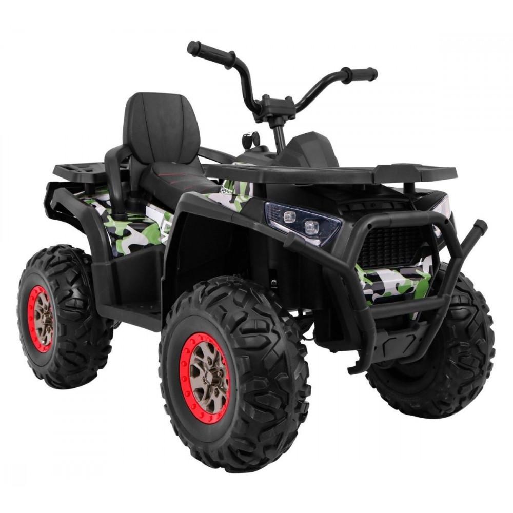 Elektrické štvorkolky - Elektrická štvorkolka Quad ATV Desert - kamufláž - 7