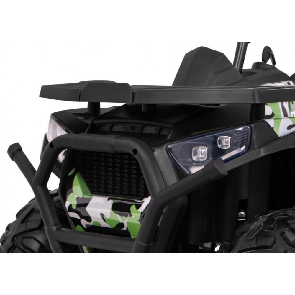 Elektrické štvorkolky - Elektrická štvorkolka Quad ATV Desert - kamufláž - 10