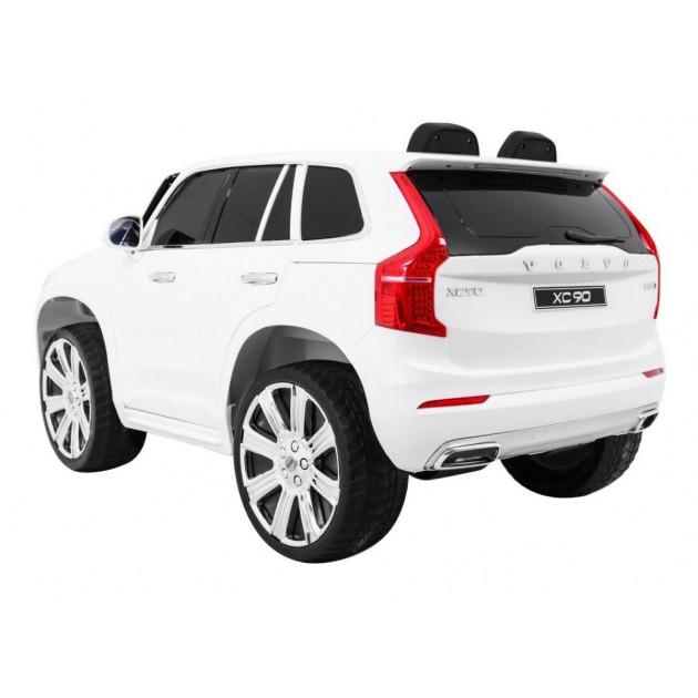 Elektrické autíčka licencované - Elektrické autíčko Volvo XC90 - biela - 1