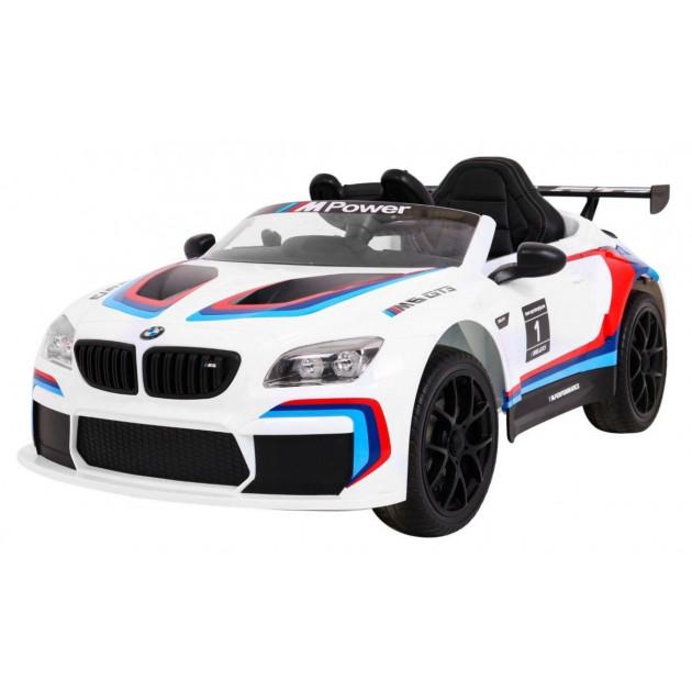 Elektrické autíčko BMW M6 GT3 - biela