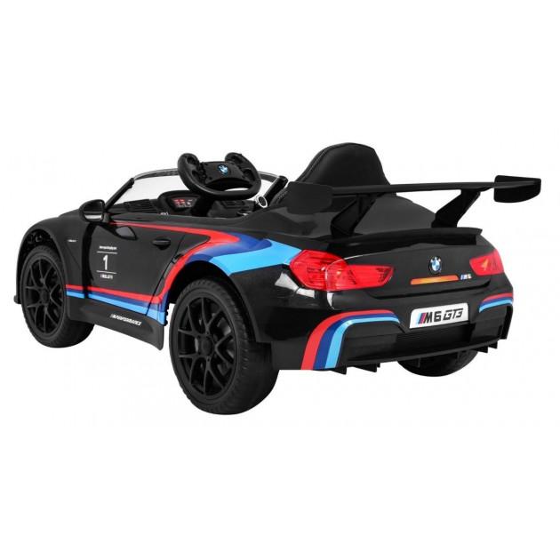 Elektrické autíčka licencované - Elektrické autíčko BMW M6 GT3 - čierna - 1