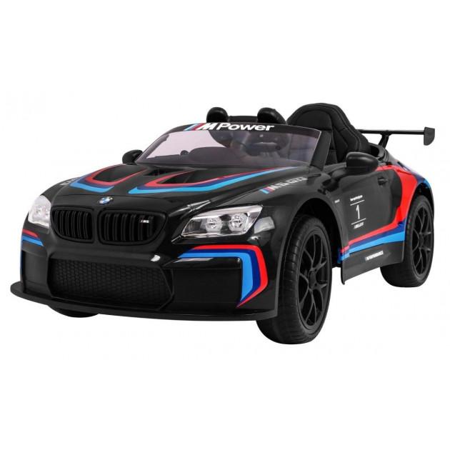 Elektrické autíčka licencované - Elektrické autíčko BMW M6 GT3 - čierna - 2