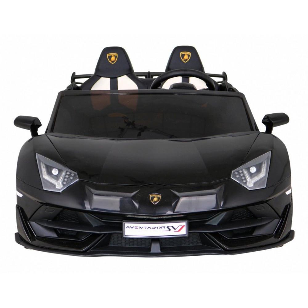 Elektrické autíčka - Driftovacie Lamborghini Aventador SVJ - čierna - 8