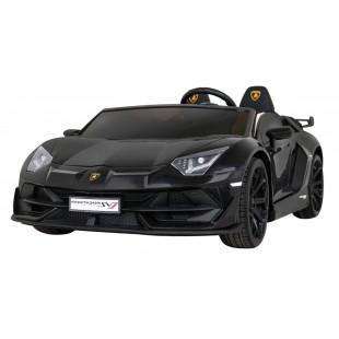 Driftovacie Lamborghini Aventador SVJ - čierna
