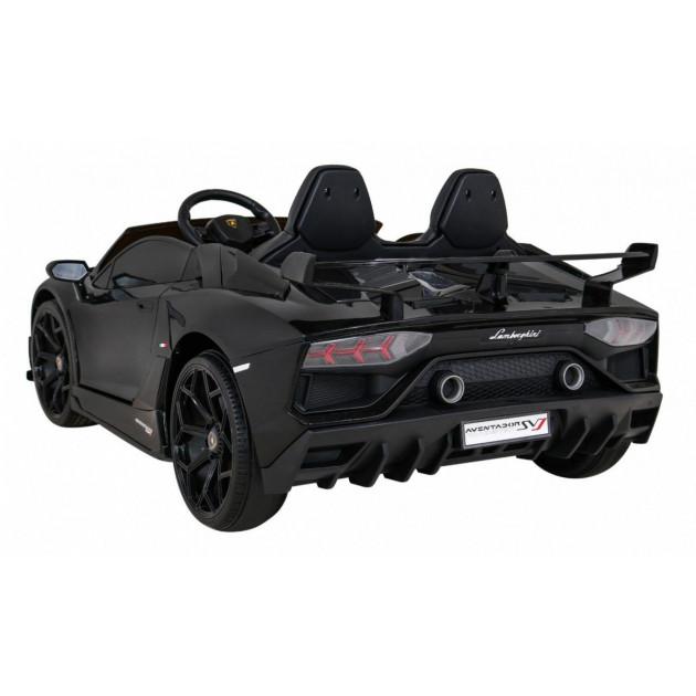 Elektrické autíčka - Driftovacie Lamborghini Aventador SVJ - čierna - 1