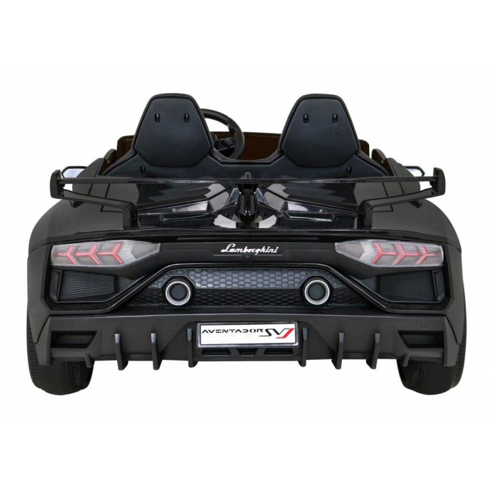Elektrické autíčka - Driftovacie Lamborghini Aventador SVJ - čierna - 9