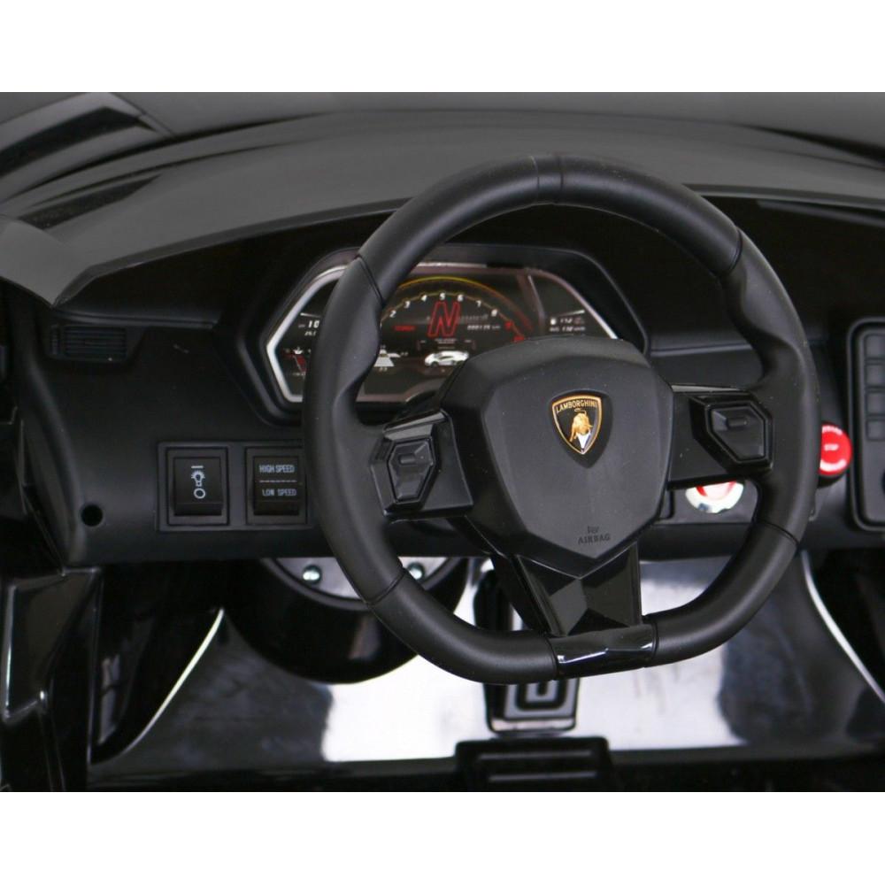 Elektrické autíčka - Driftovacie Lamborghini Aventador SVJ - čierna - 16