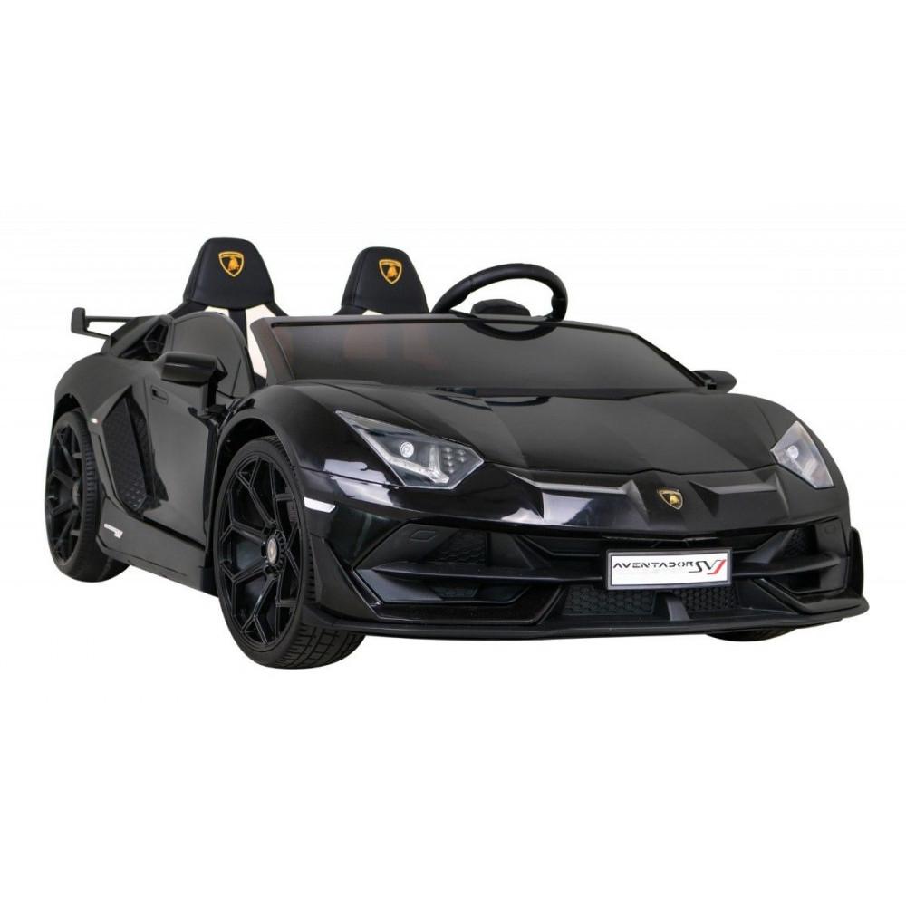 Elektrické autíčka - Driftovacie Lamborghini Aventador SVJ - čierna - 7