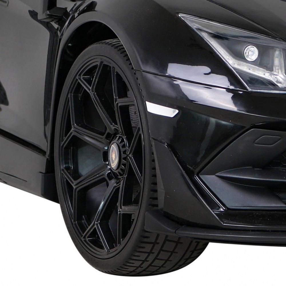 Elektrické autíčka - Driftovacie Lamborghini Aventador SVJ - čierna - 12