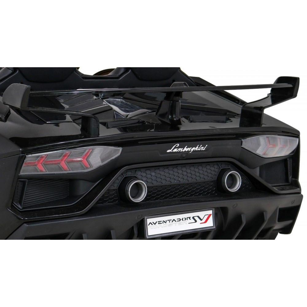 Elektrické autíčka - Driftovacie Lamborghini Aventador SVJ - čierna - 14