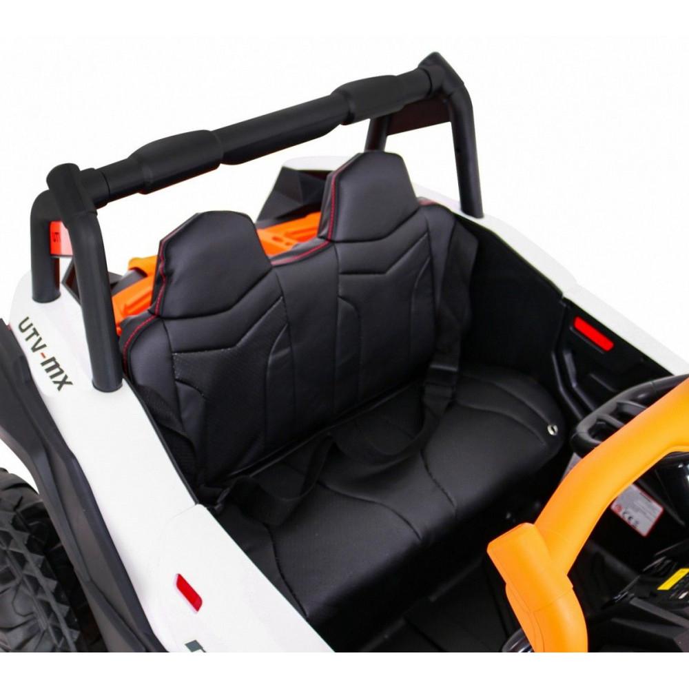 Elektrické autíčka dvojmiestne - Elektrické autíčko UTV-MX STRONG - oranžová - 10