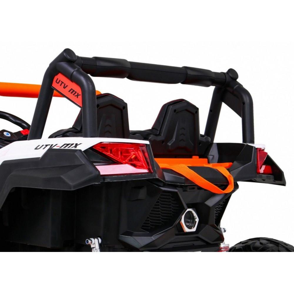 Elektrické autíčka dvojmiestne - Elektrické autíčko UTV-MX STRONG - oranžová - 13