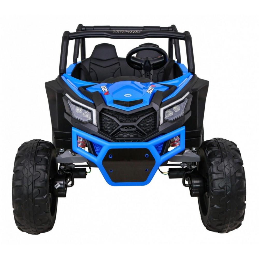 Elektrické autíčka dvojmiestne - Elektrické autíčko UTV-MX STRONG - modrá - 8