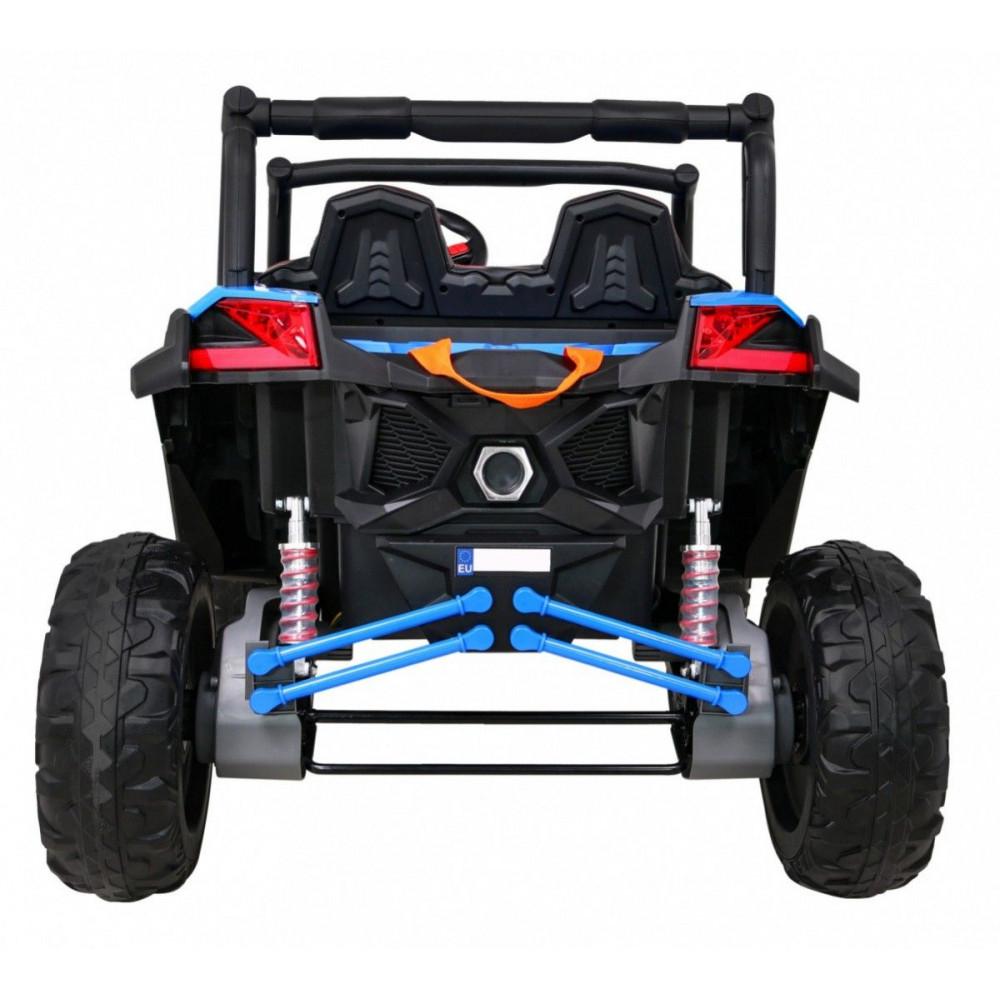 Elektrické autíčka dvojmiestne - Elektrické autíčko UTV-MX STRONG - modrá - 9