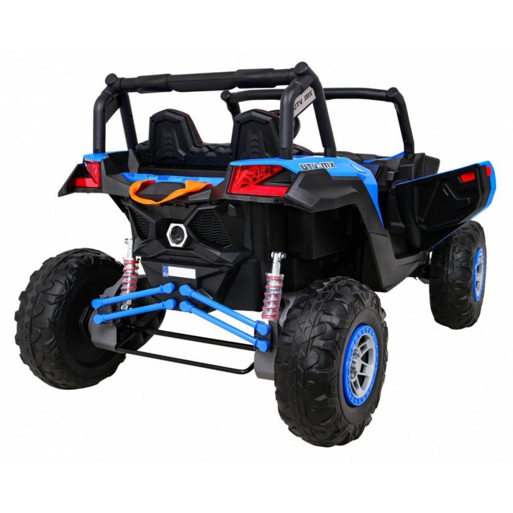 Elektrické autíčka dvojmiestne - Elektrické autíčko UTV-MX STRONG - modrá - 6