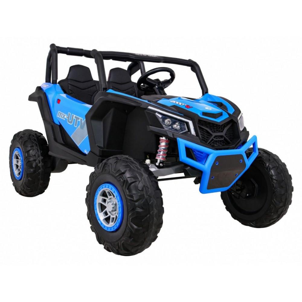 Elektrické autíčka dvojmiestne - Elektrické autíčko UTV-MX STRONG - modrá - 7