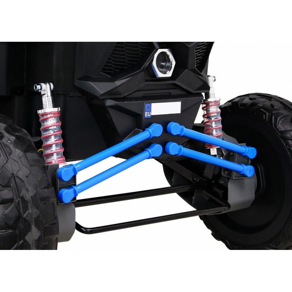 Elektrické autíčka dvojmiestne - Elektrické autíčko UTV-MX STRONG - modrá - 13