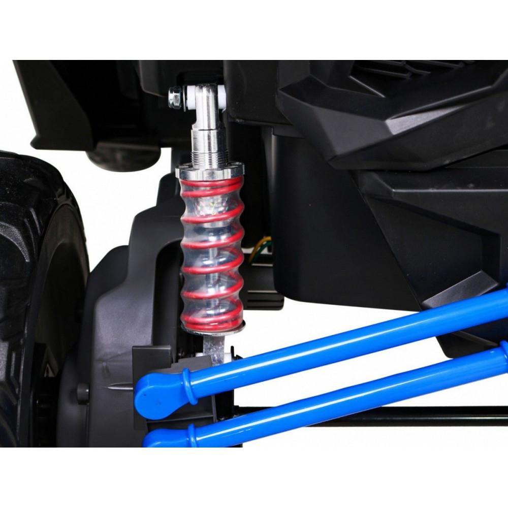 Elektrické autíčka dvojmiestne - Elektrické autíčko UTV-MX STRONG - modrá - 14