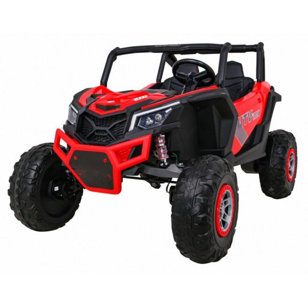 Elektrické autíčka dvojmiestne - Elektrické autíčko UTV-MX STRONG - červená - 2