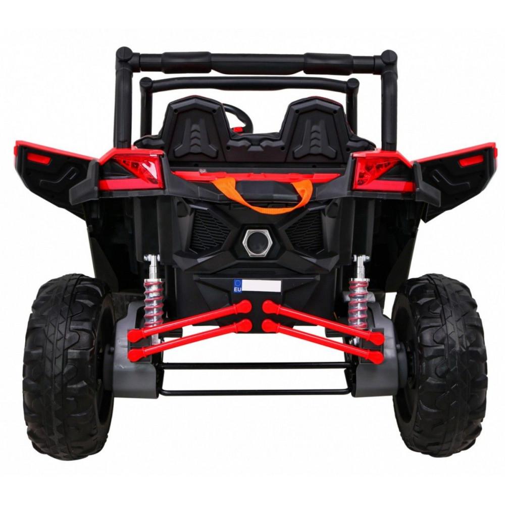 Elektrické autíčka dvojmiestne - Elektrické autíčko UTV-MX STRONG - červená - 8