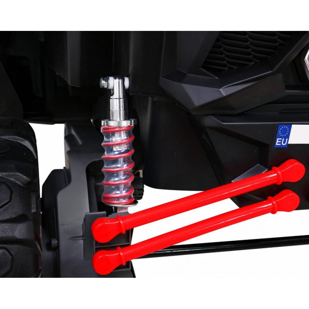 Elektrické autíčka dvojmiestne - Elektrické autíčko UTV-MX STRONG - červená - 15